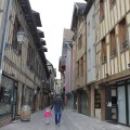 Timber houses in Troyes, France