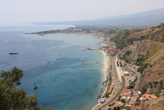 Views from Taormina, Sicily