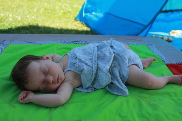 Cheeky at 6 weeks old
