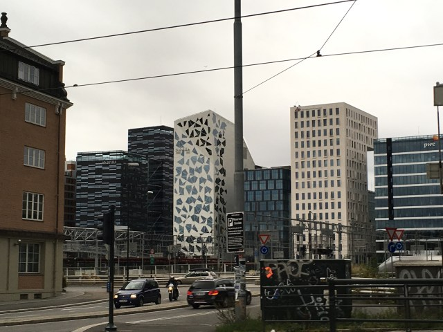 Bar code buildings, Oslo