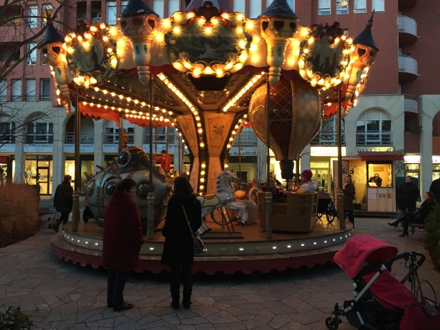 Carousel in Epernay