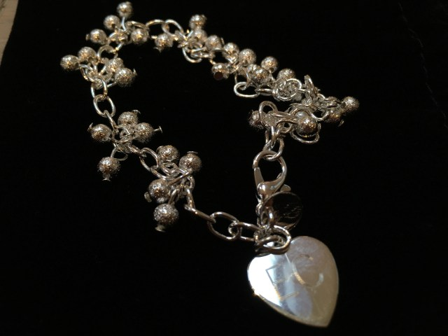 Shimmer Silver bracelet, I Just Love It