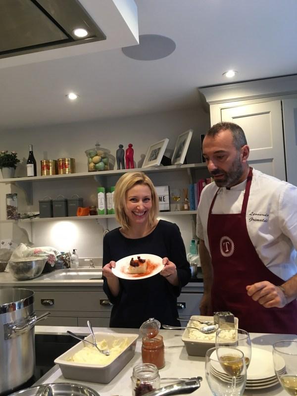 Cooking class with Leonardo Grimaldi
