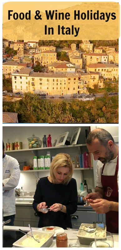 Learn how to cook with Food and Wine Holidays in Italy at Palazzo Tronconi