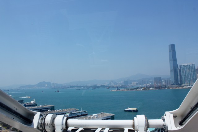 View from Hong Kong Observation wheel