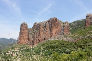 Mallas de Riglos, Aragon, Spain