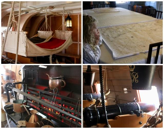 Inside HMS Victory, Portsmouth Historic Dockyard
