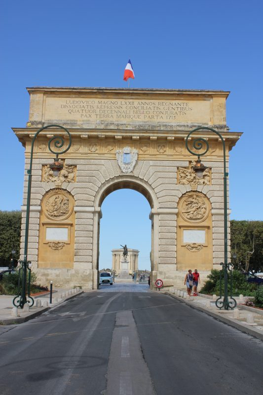 Arc de Triumph, Montpellier, France