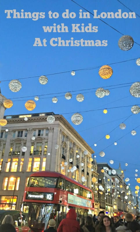 Things to do in London with kids at Christmas