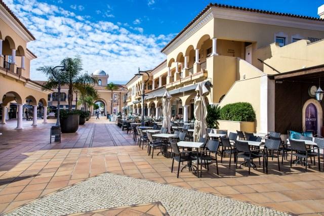 Restaurants at Vale do Lobo, the Algarve, Portugal