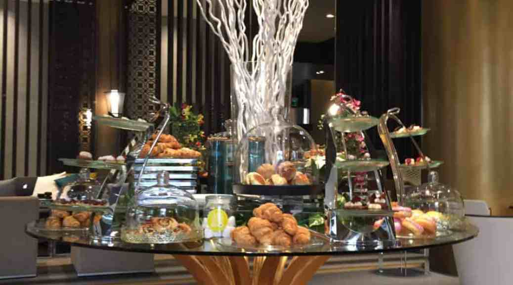 afternoon tea buffet at westin doha