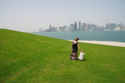 The beautiful Doha skyline