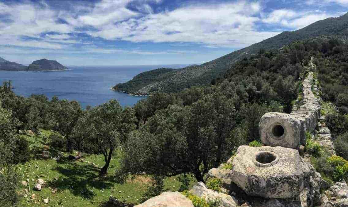 Lykischer Weg - Wandern an der türkischen Riviera zwischen Fethiye und Antalya - 2