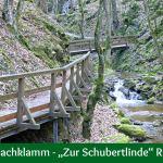 """Johannesbachklamm – """"Zur Schubertlinde"""" Runde Wü4"""