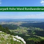 Naturpark Hohe Wand Rundwanderweg 3