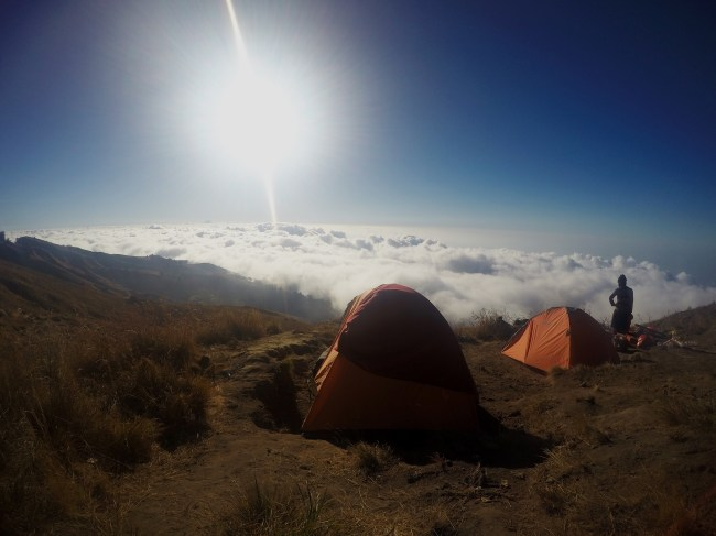 First basecamp