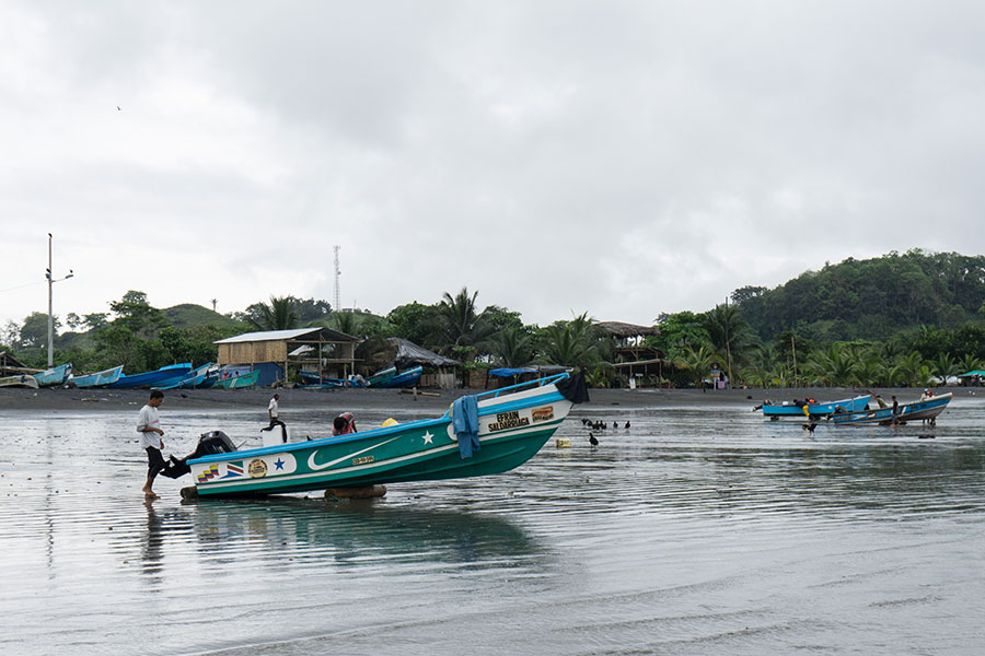 Locals about to go fishing