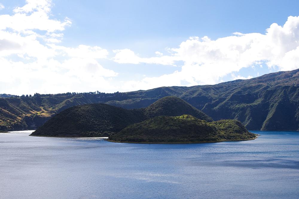 Laguna Cuicocha Crater Lake