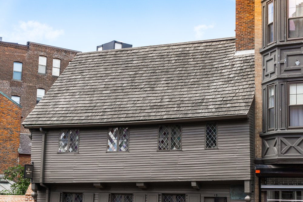 Visit Paul Revere's House along the Freedom Trail.