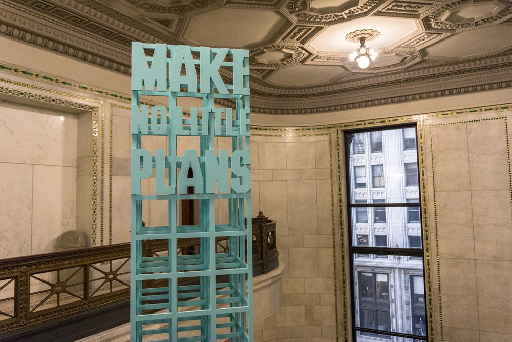 Stop by the Chicago Cultural Center on the Loop
