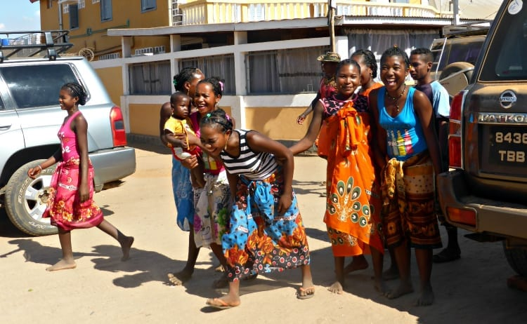 Image of Malagasy ladies