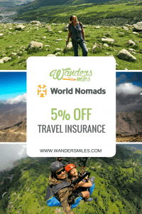 5% off World Nomads Travel Insurance