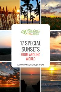 17 special sunsets from around the world by travel bloggers