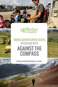 Wanders Miles World Adventurers Interview with Against the Compass