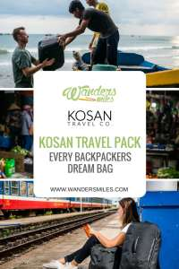 Kosan Travel Pack is every backpackers dream