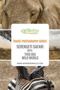 Wanders Miles Travel Photography Series 3 with Seregeti Safari by This Big Wild World