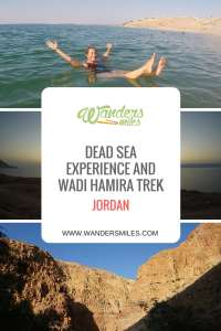 Dead Sea experience and Wadi Hamira trek. Travel Blog by Wanders Miles.