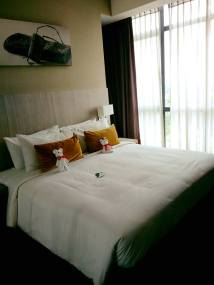 beds at citadines uplads kuching