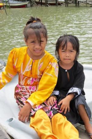kuching fishing village
