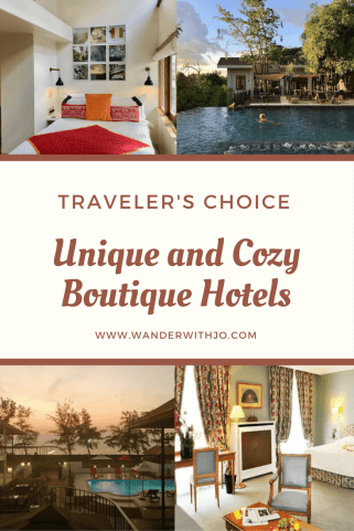 Boutique hotel guide unique stays to add to your bucketlist for Unique small hotels