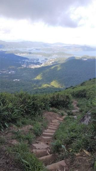 hiking to kowloon peak