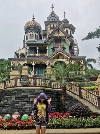 Mystic manor at Disneyland