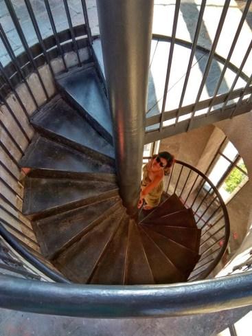budatower staircase