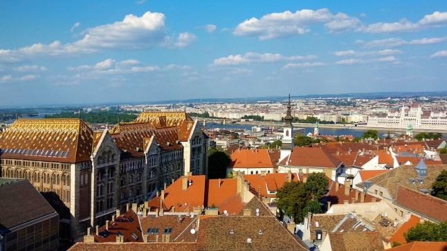view from Budatower