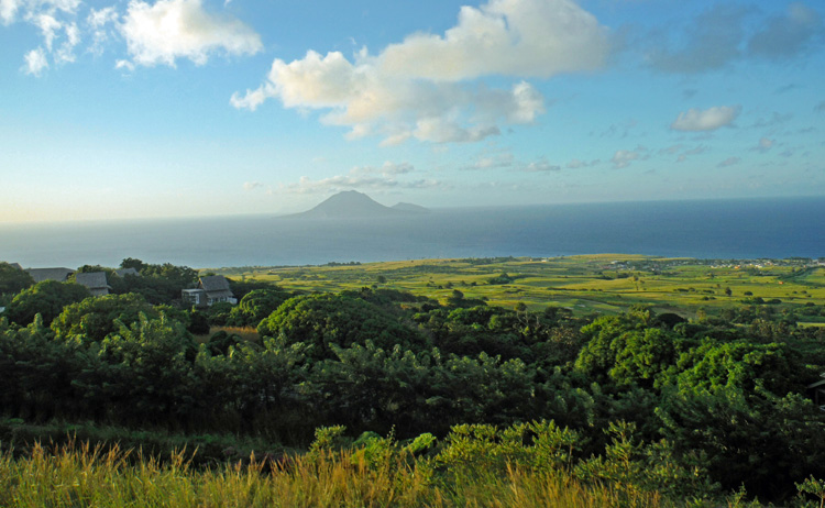 An image of Belle Mont Farm on St. Kitts