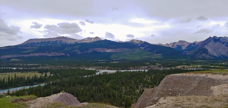 Image of Valley from Siffleur Meadow