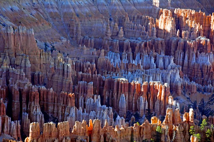 An image of the view from Bryce Point in Bryce Canyon National Park in Utah - best hikes in Bryce Canyon