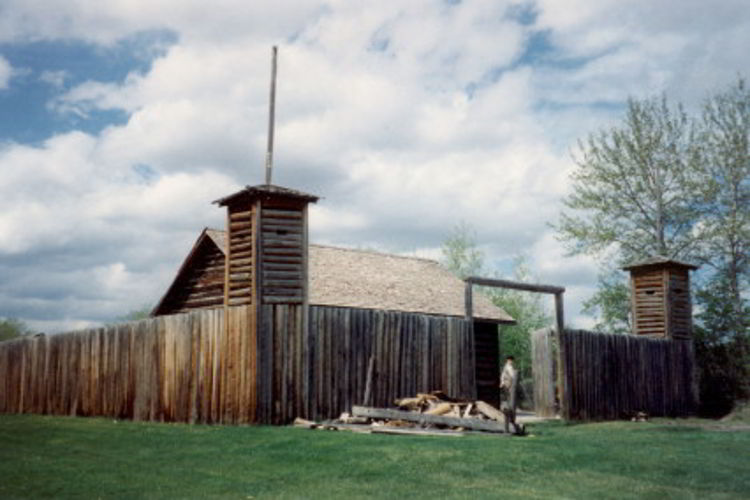 An image of Fort Normandeau in Red Deer, Alberta, Canada.