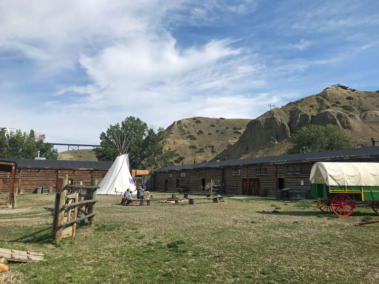 An image of Fort Whoop-up - Things to do in Lethbridge, Alberta.