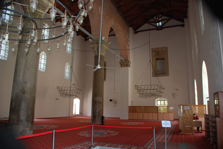 An image of İsa Bey Mosque near Ephesus, Turkey.