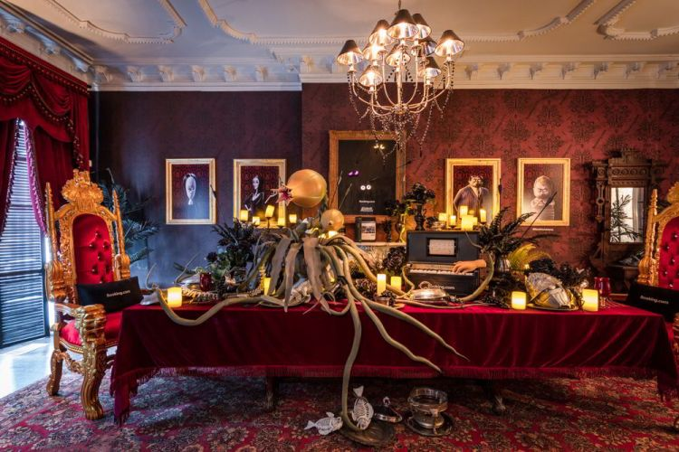 An image of the Adams Family Mansion is one of the unique experiences on offer from Booking.com