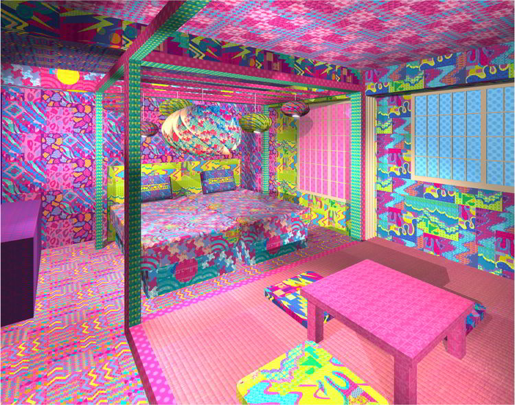 An image of the Booking.com Kawaii room in Tokyo  -quirky accommodation.