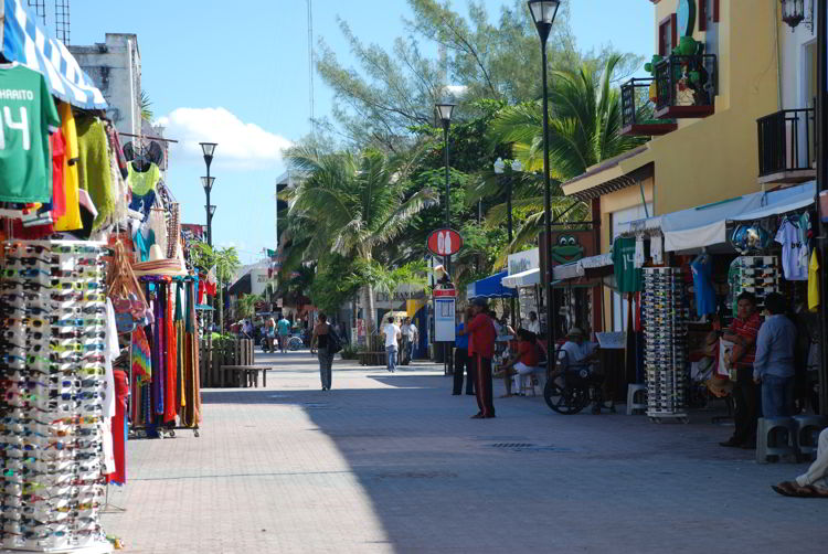 An image of Playa Del Carmen, Mexico  during the day - Riviera Maya Excursions.