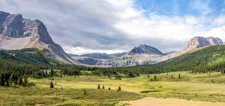 An image of Willmore Wilderness Area.