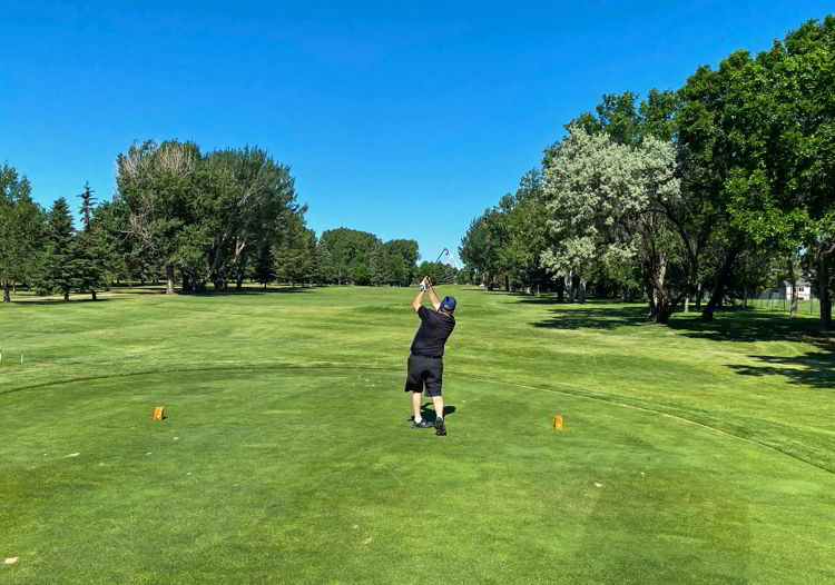 An image of Connaught Golf Course in Medicine Hat, Alberta, Canada.