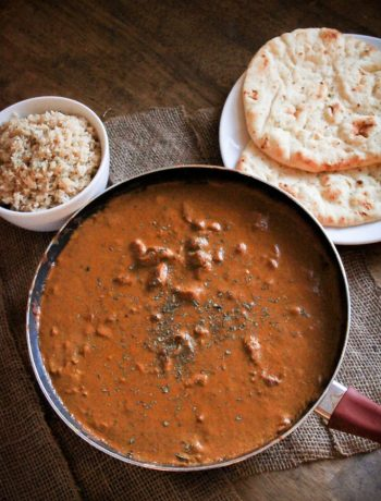 Coconut Chicken Tikka Masala - Curry and coconut are two flavors that were made for each other! This curry is so easy and delicious!
